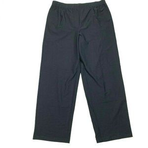Eileen Fisher Pants & Jumpsuits - Eileen Fisher Black Crepe Straight Pants Stretch
